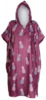 After Essentials Poncho Pineapple Purple 2020