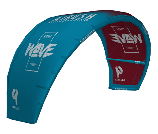 AIRUSH WAVE V9 red/teal 2020