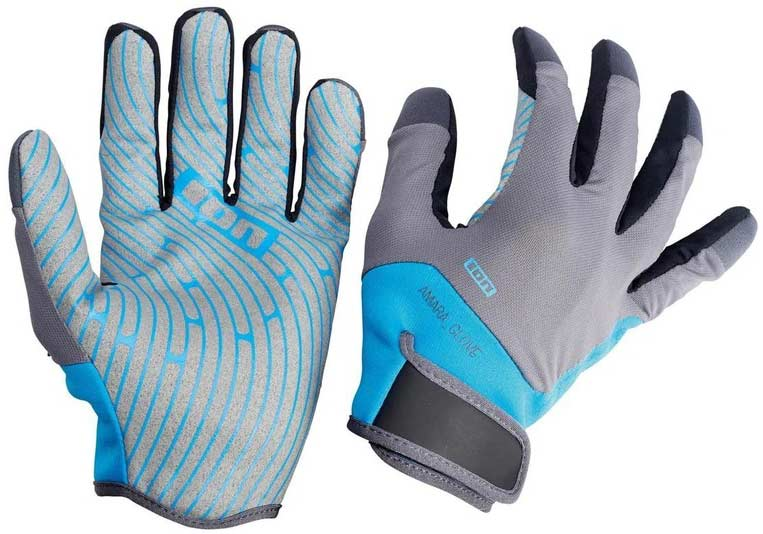 Ion Amara Gloves Full Finger Blue/Grey 2016